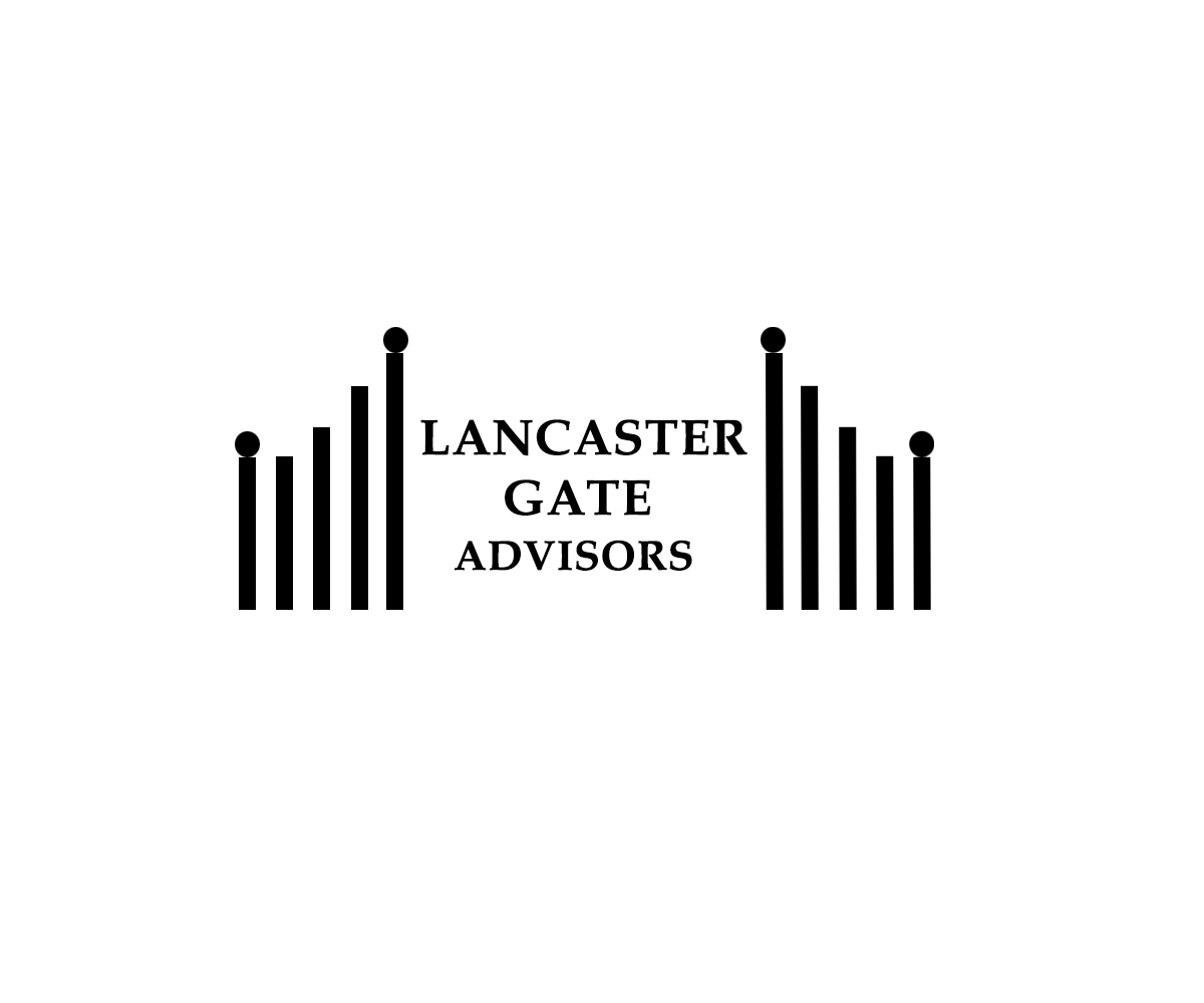 logo design for lancaster gate advisors by mkr studios