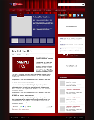 Wordpress Design #586365