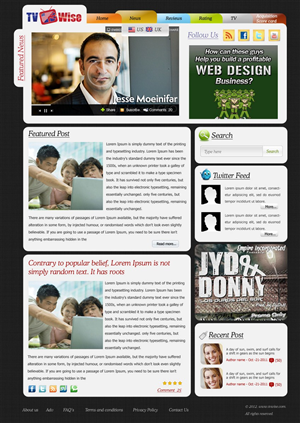 Wordpress Design #585664