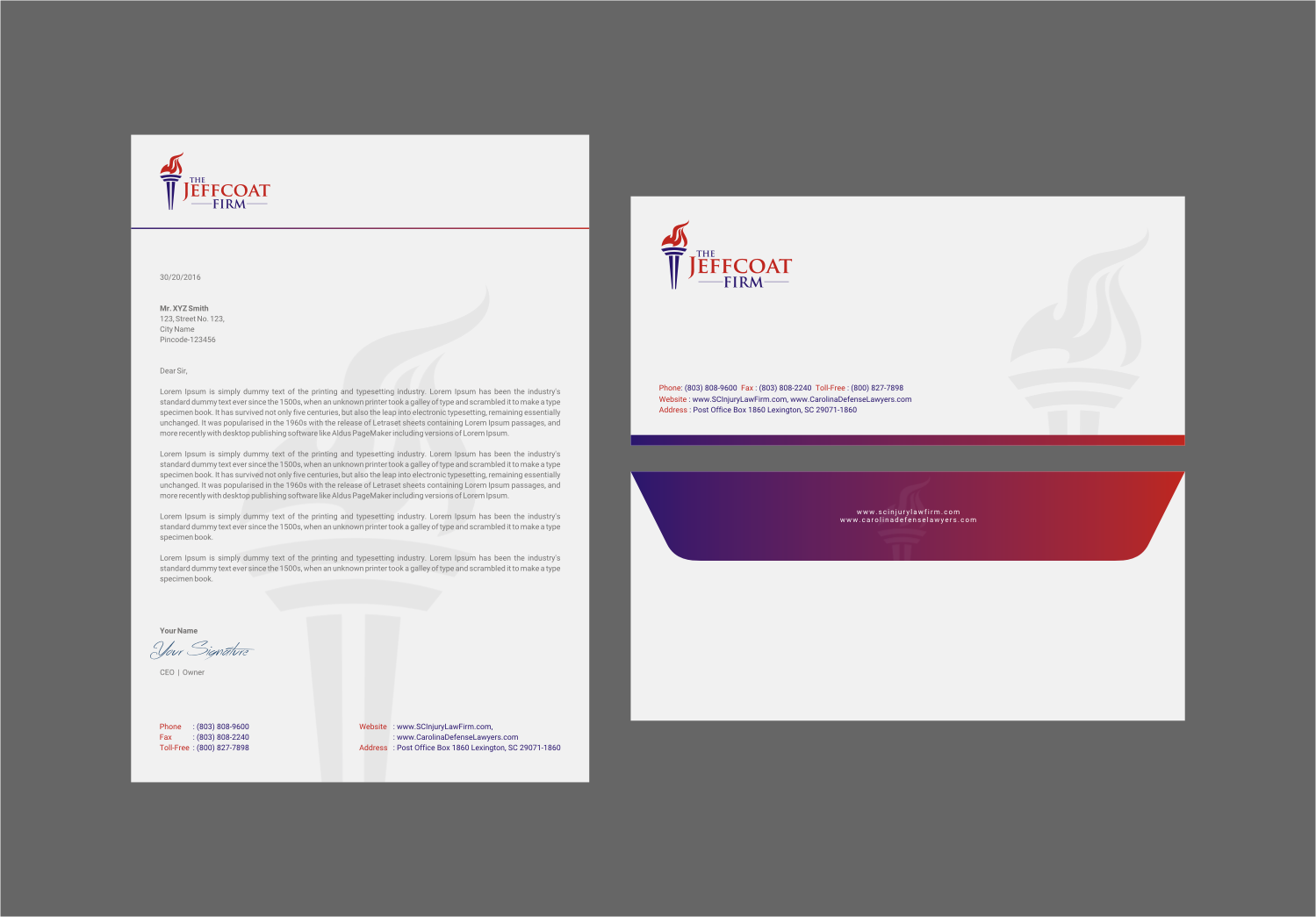 Serious Professional Legal Stationery Design For A Company By Indian Ashok Design 15660806