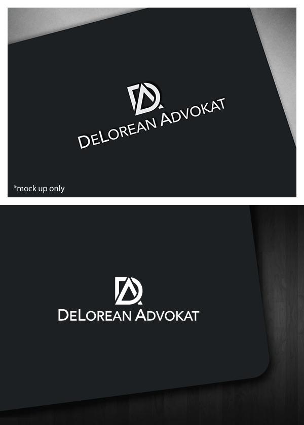 c592312b Logo Design by Bluemedia for DeLorean Advokat AB | Design #15663924