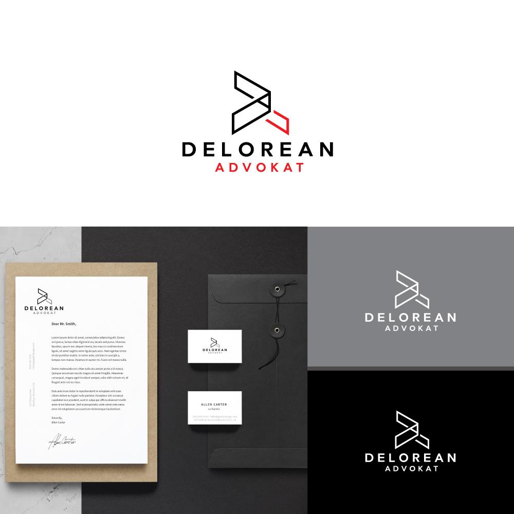 43e7c441 Logo Design by ESolz Technologies for DeLorean Advokat AB | Design #15658068