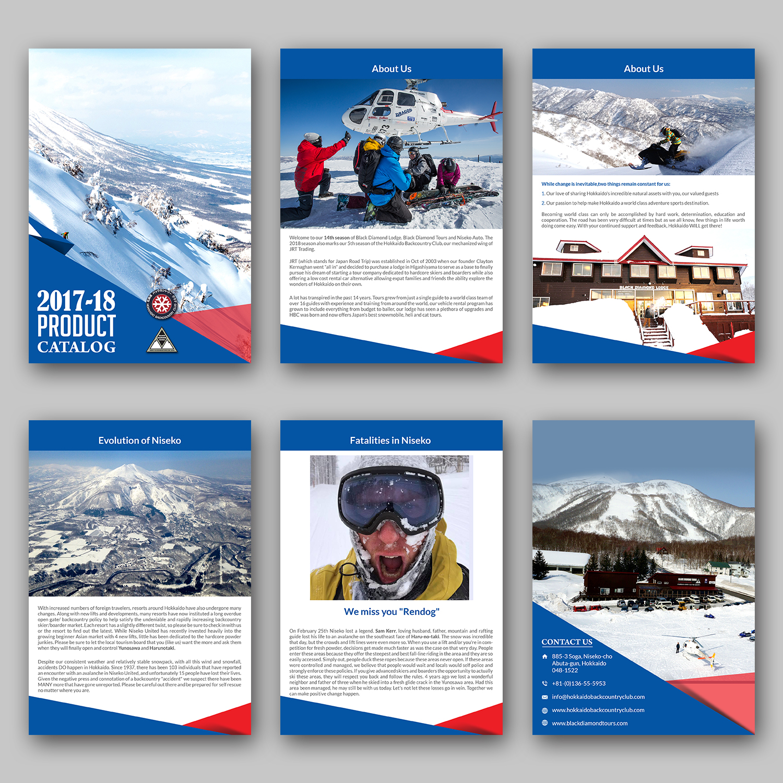 serious professional travel agent catalogue design for a company