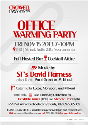Office warming invitation wording stopboris Choice Image