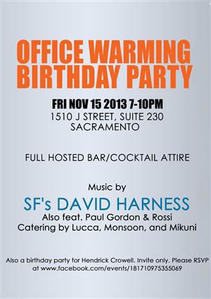 Office Warming Invitation Templates Best Custom Invitation