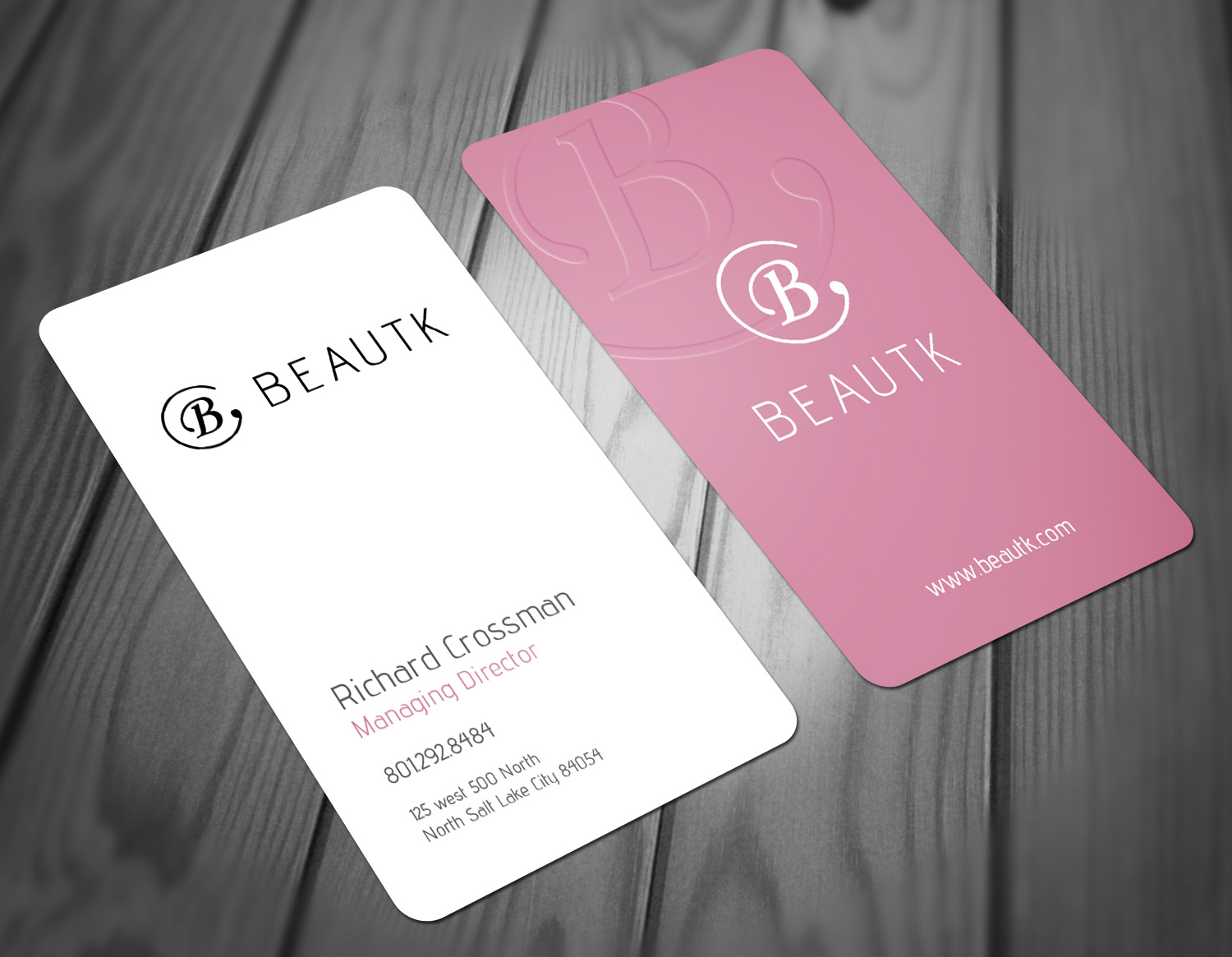 Elegant modern cosmetics business card design for a company by business card design by sandaruwan for this project design 15679152 colourmoves