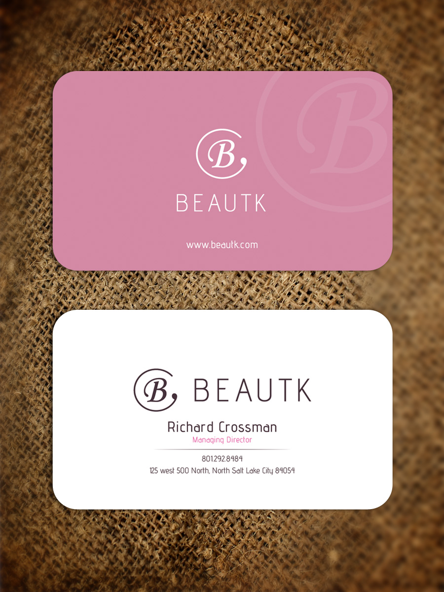 Elegant, Modern, Cosmetics Business Card Design for a Company by ...