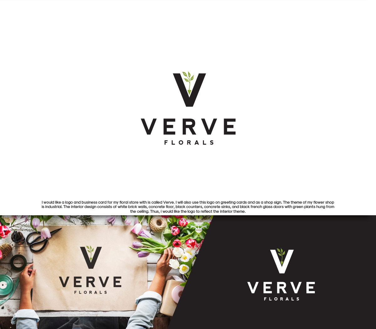 Modern Bold Business Logo Design For Verve By Gino Paulo Brigati