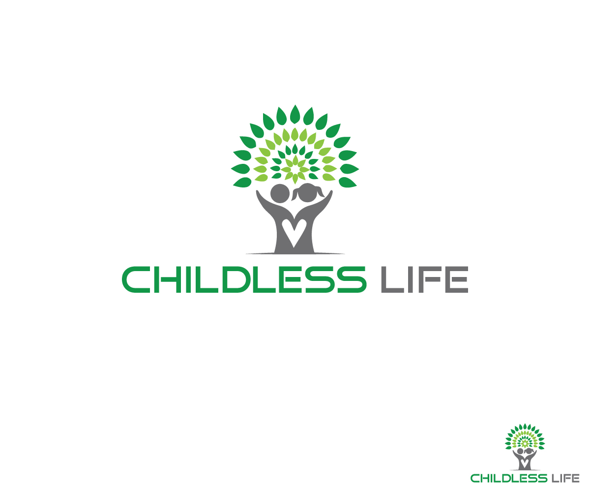 Modern, Personable Logo Design for Childless Life by Nadia