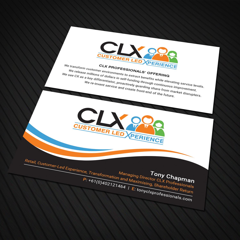 Business Card Design for tony chapman by Sandaruwan   Design #15707620