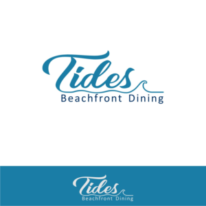 Logo Design 15739455 Submitted To TIDES Beachfront Dining For Elegant Beachside