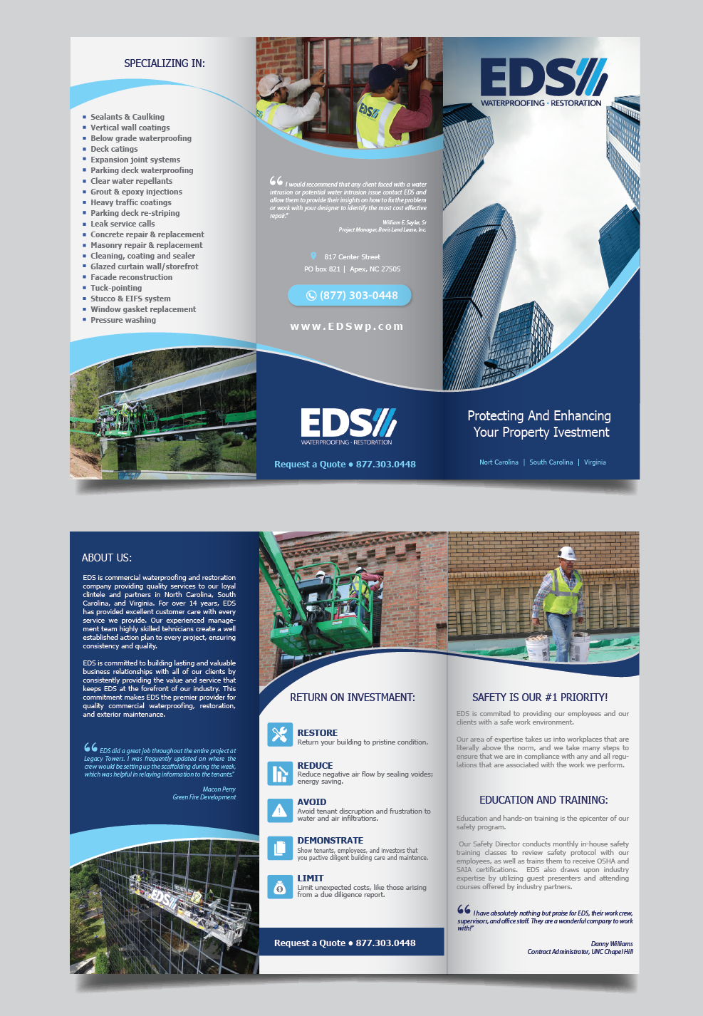 Modern Professional Flyer Design For A Company By Alex989 Design 15732893