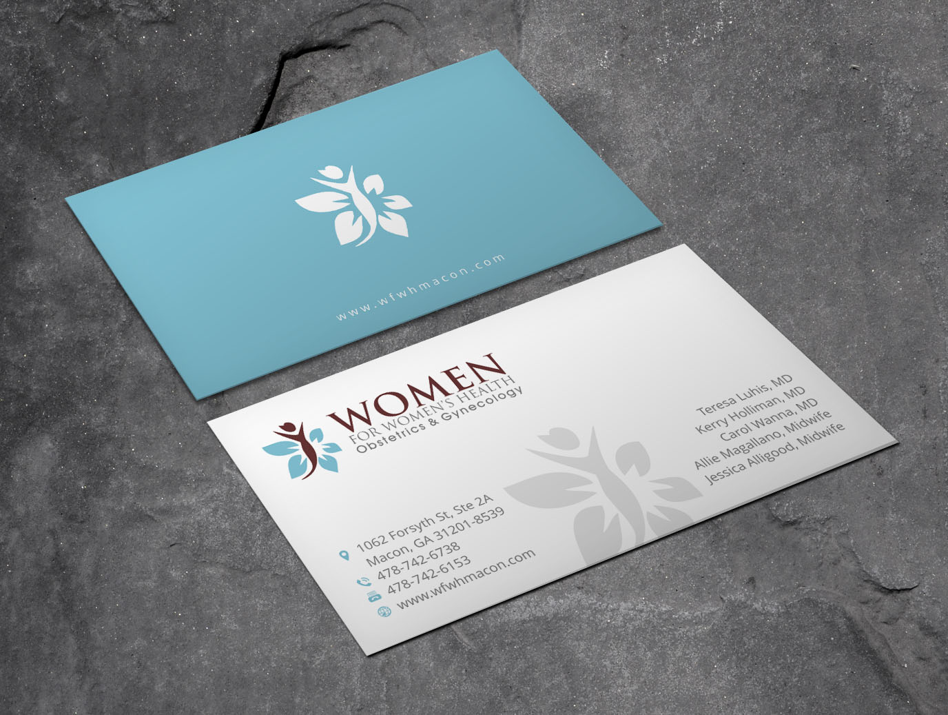 Personable elegant business business card design for women for business card design by xpert for women for womens health design 15723194 colourmoves