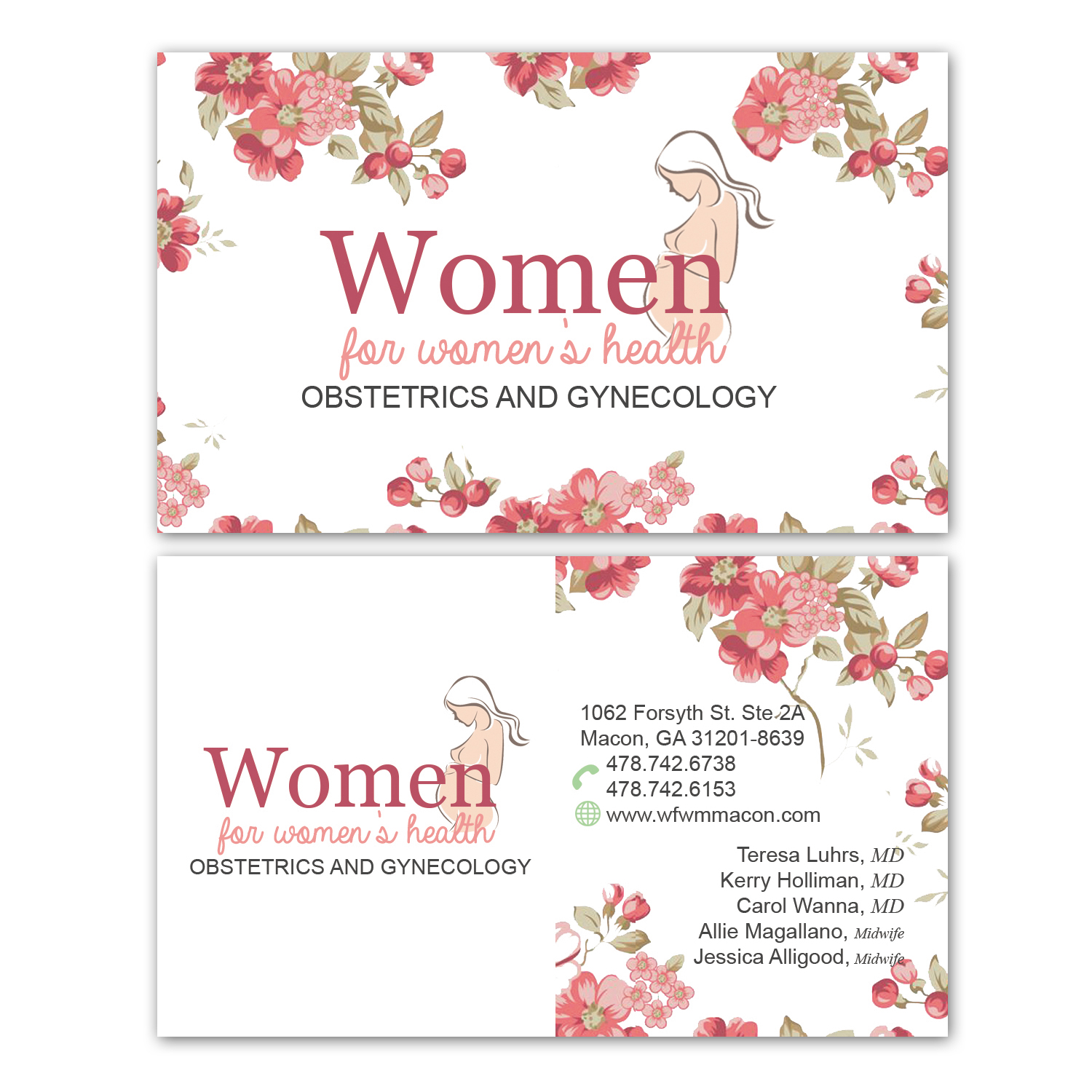 Personable, Elegant, Business Business Card Design for Women For ...