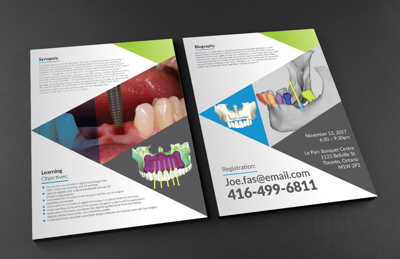 Professional, Modern, Dental Flyer Design for Joeyjojo2742 by