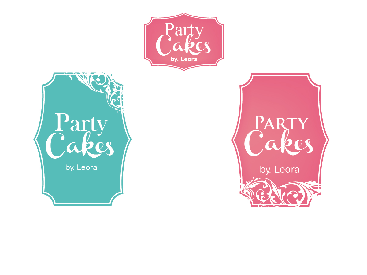 Playful, Modern, Boutique Logo Design for Party Cakes by Leora by ...