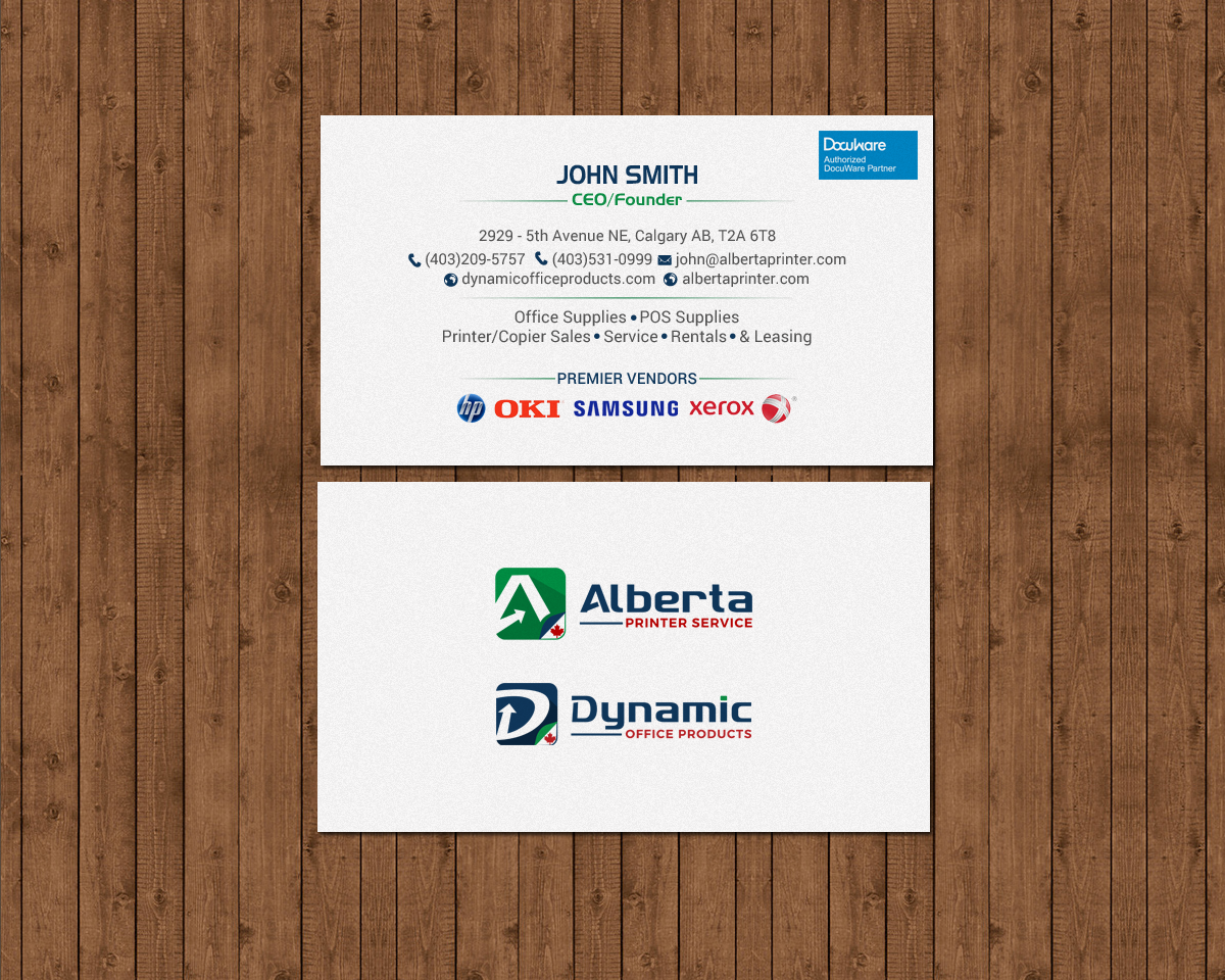 Elegant serious office supply business card design for dynamic business card design by chandrayaaneative for dynamic office products design 15821892 reheart Choice Image