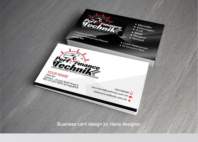 Modern masculine car repair business card design for maceasia by business card design by hana for maceasia design 15739838 colourmoves