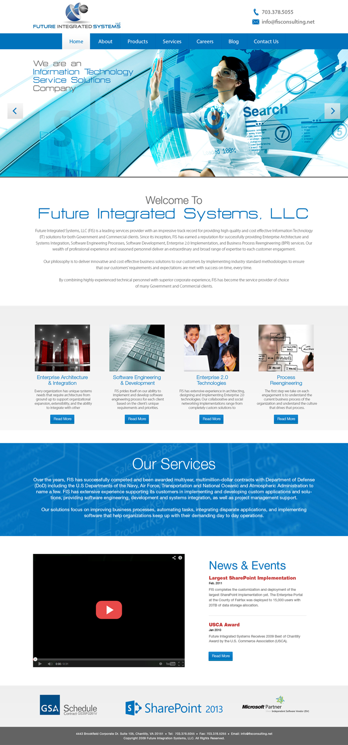 Elegant, Serious, Environment Web Design for a Company by Latest ...