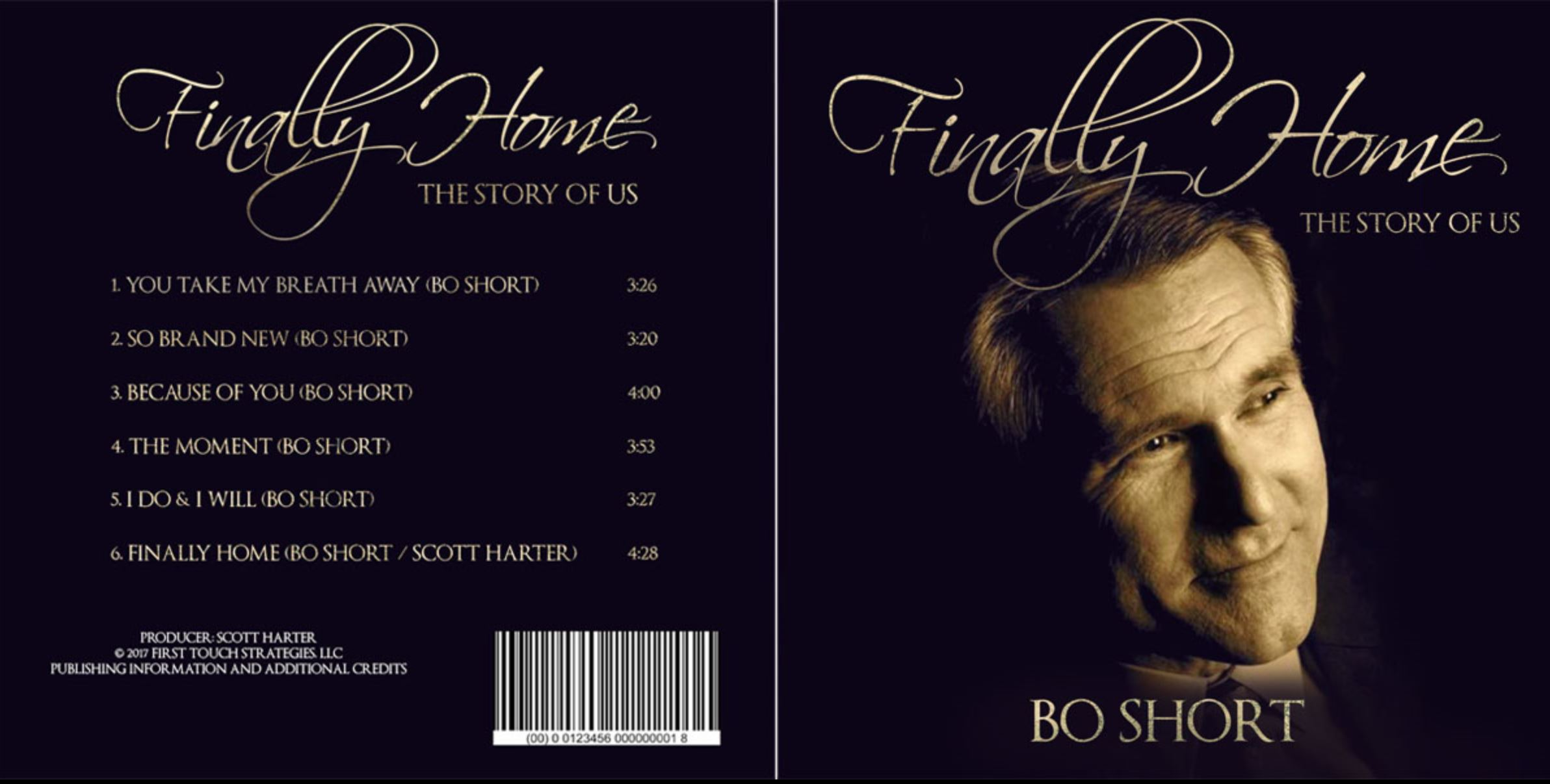 Traditionel Sympatisch Music Download Cd Cover Design Für Bo Short
