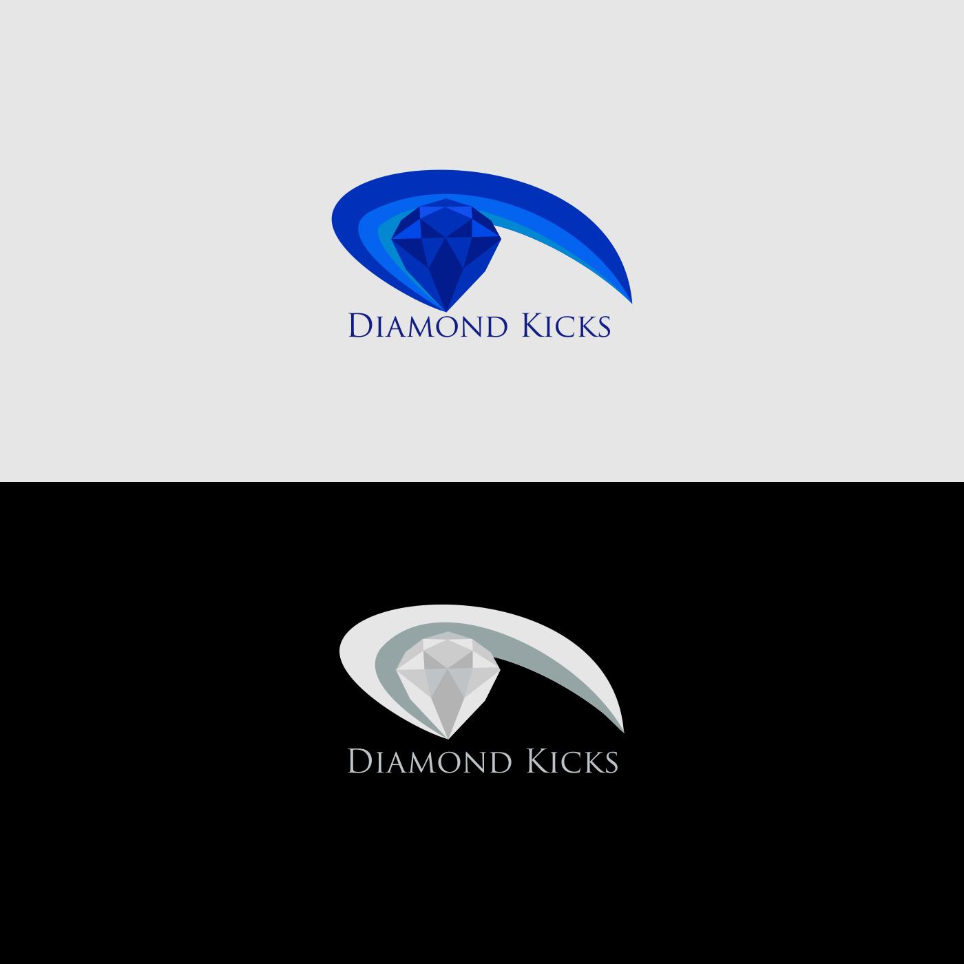 Business Logo Design for Diamond Kicks by ellesis 2  360a445f19