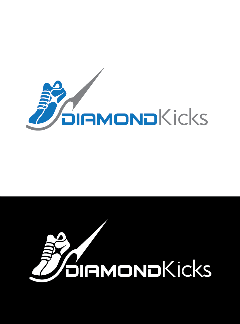 Business Logo Design for Diamond Kicks by MG EFFECTS  3298099c84