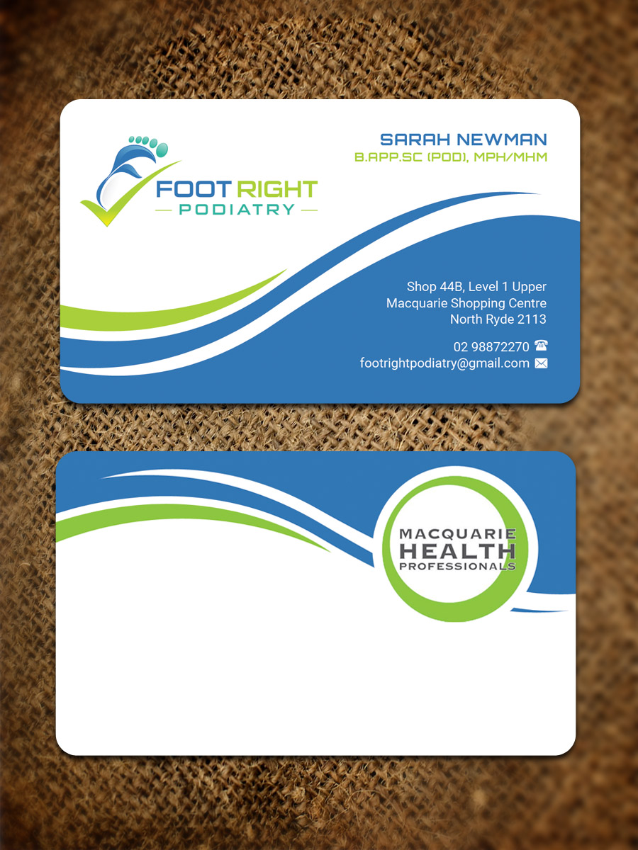 23 Bold Business Card Designs | Health Care Business Card Design ...