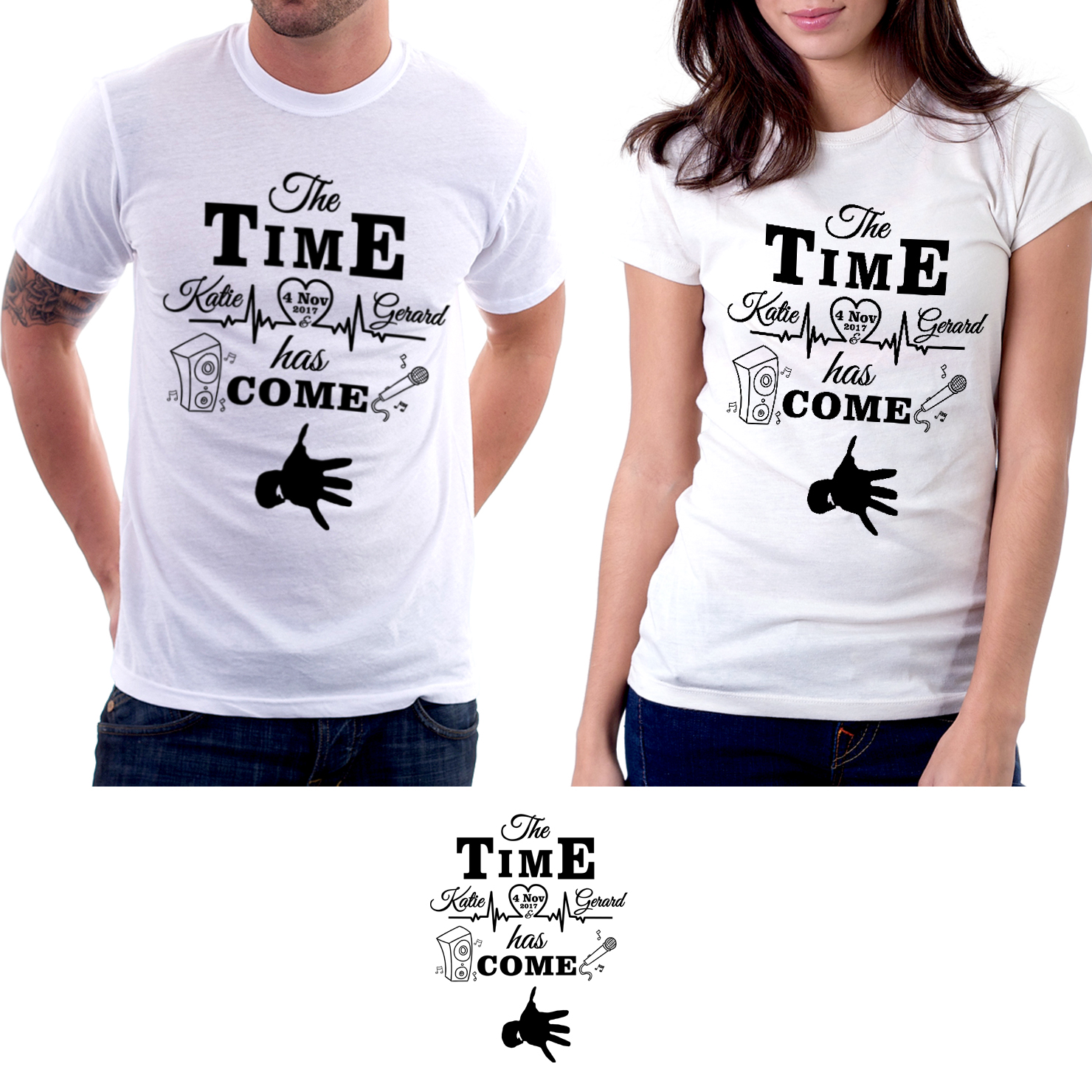 Personable Playful Wedding T Shirt Design For A Company By G