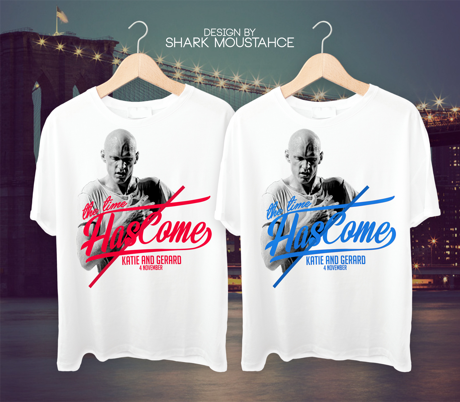 Personable Playful Wedding T Shirt Design For A Company By