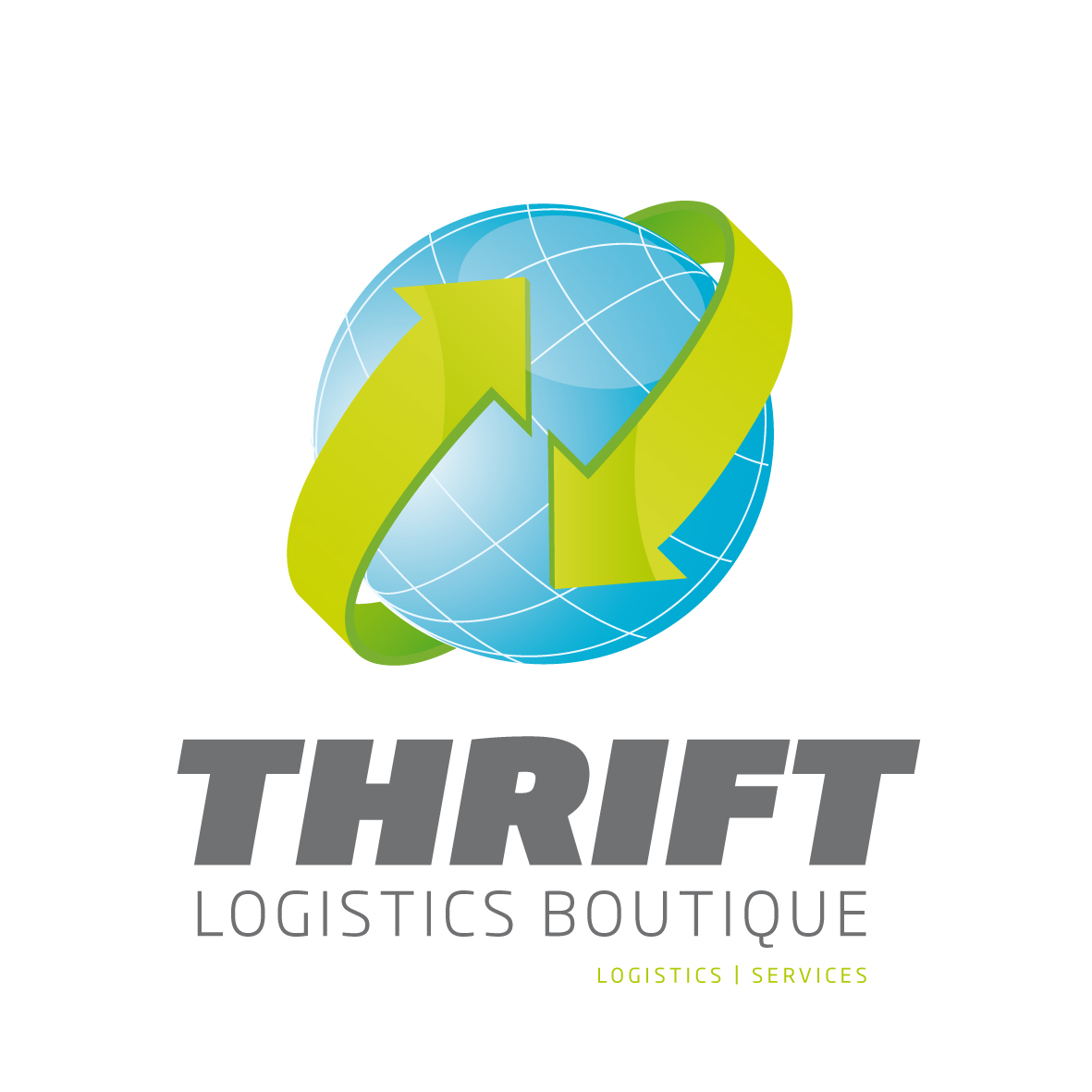 Logo Design by Alternactive for THRIFT Logisitics logo redesign contest - Design #40415