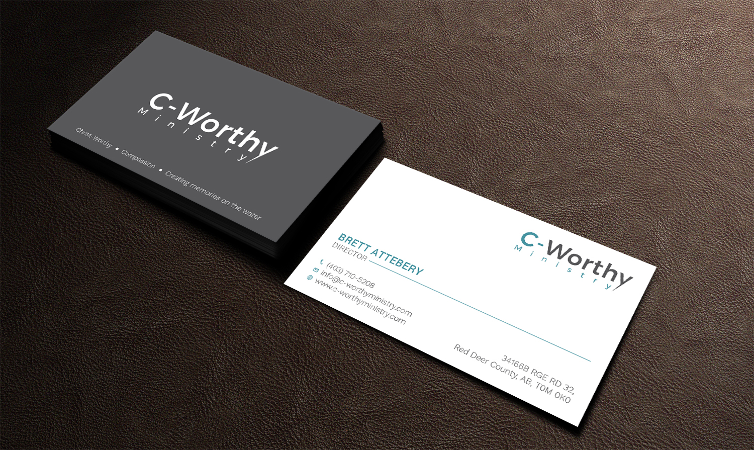 Personable, Elegant, Ministry Business Card Design for a Company by ...