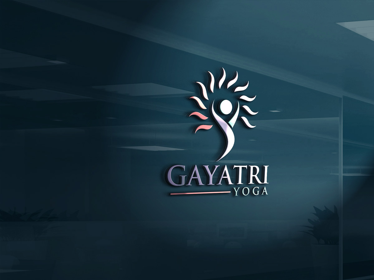 Upmarket elegant fitness logo design for gayatri or for Logo creation wizard