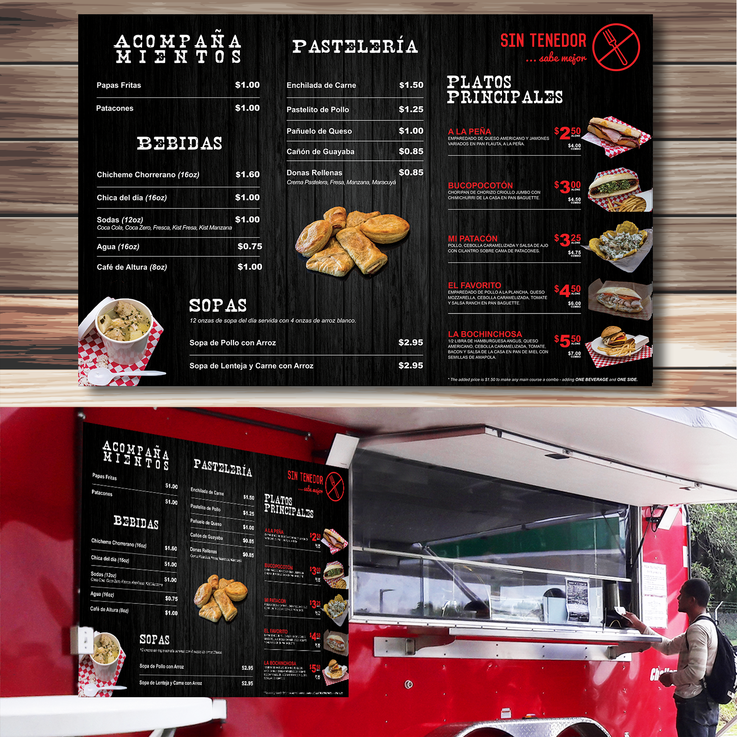 Playful, Personable Menu Design for a Company by YNS ...