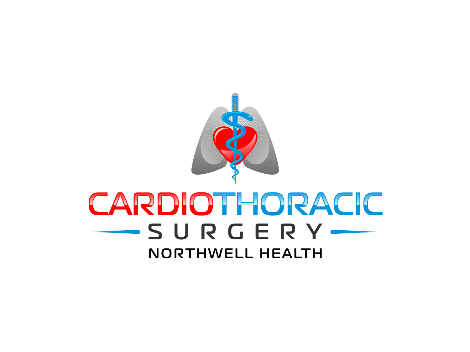Elegant Serious Logo Design For Cardiothoracic Surgery Northwell Health By R16 Design 15859307