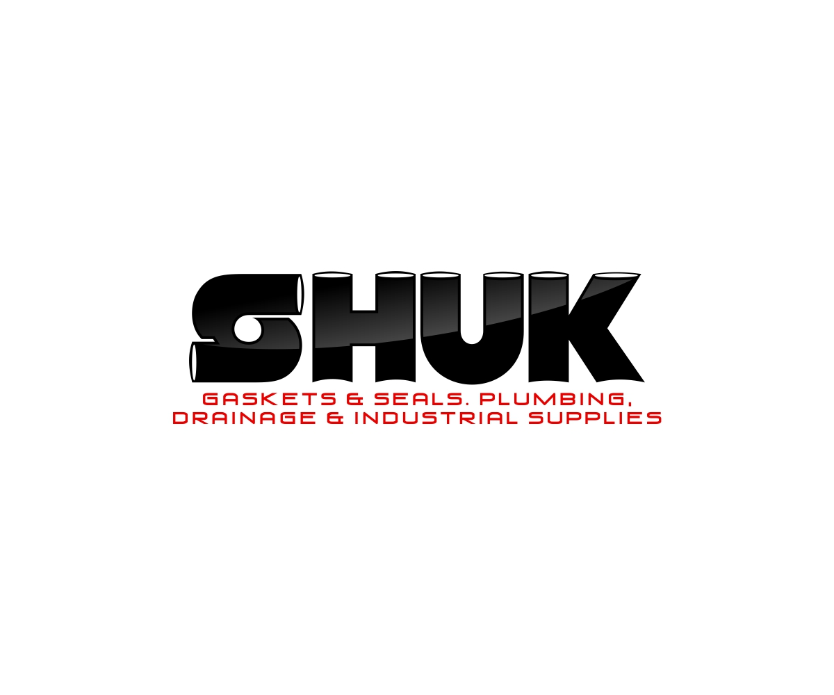 Bold, Serious Logo Design for SHUK. GASKETS & SEALS. PLUMBING ...
