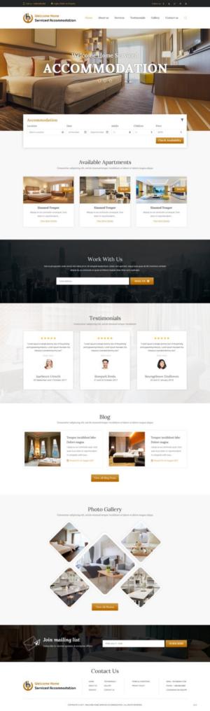 Modern Conservative Web Design Job Web Brief For Darren A
