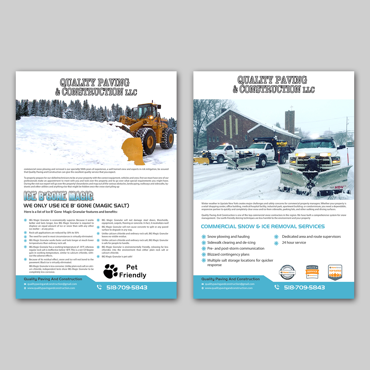 flyer design by hih7 for bumpys polar freeze inc design 15875145