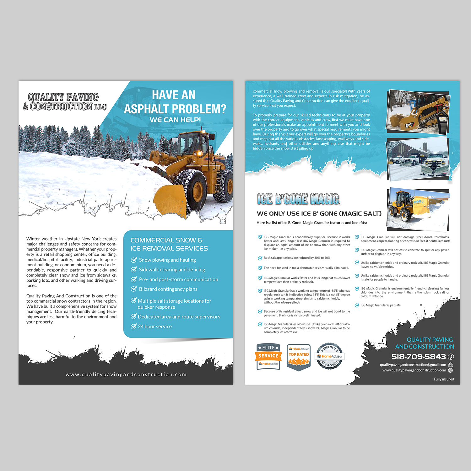 flyer design by hih7 for bumpys polar freeze inc design 15878006