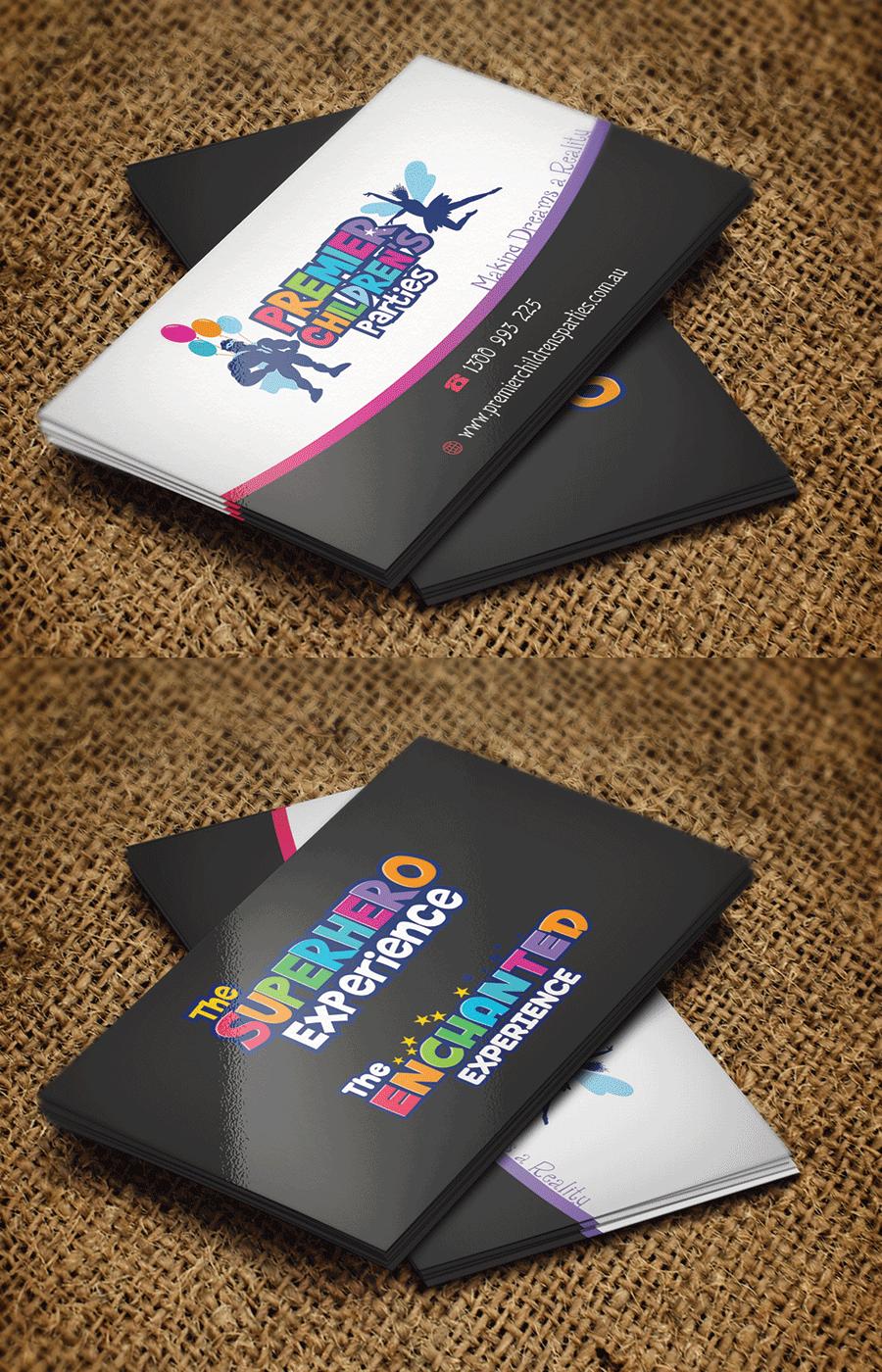 Design De Carte Visite Par Riz Pour Action Reaction Entertainment