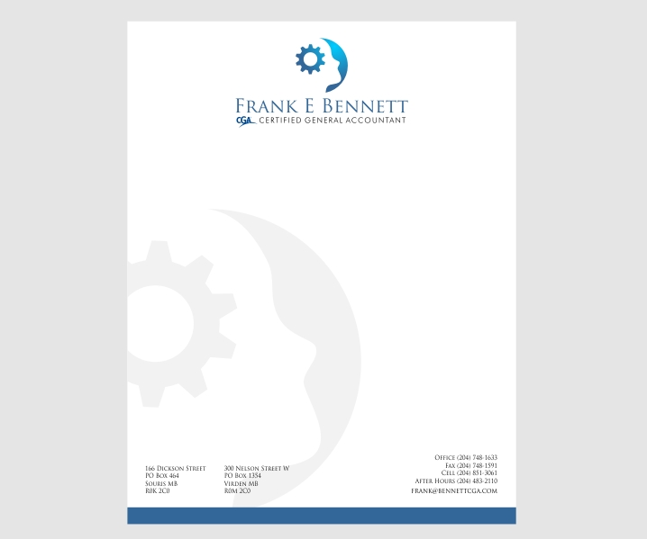 11 professional letterhead designs accounting letterhead design letterhead design by jhgraphicsusa for this project design 2620208 reheart Image collections