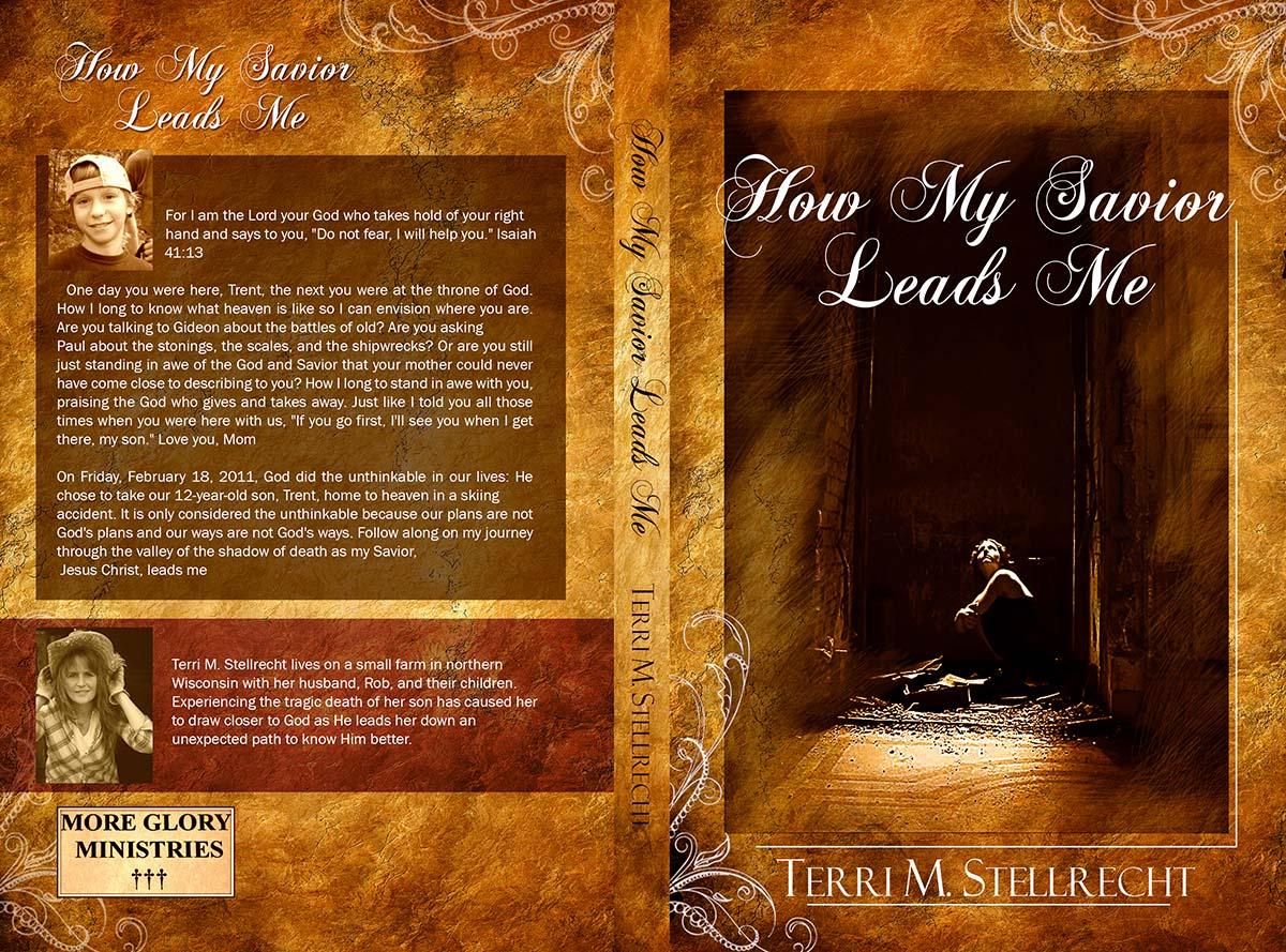 Religious Book Cover Design : Serious conservative religious book cover design for