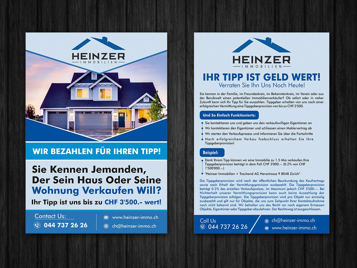 Elegant, Modern, Real Estate Flyer Design for a Company by ESolz ...