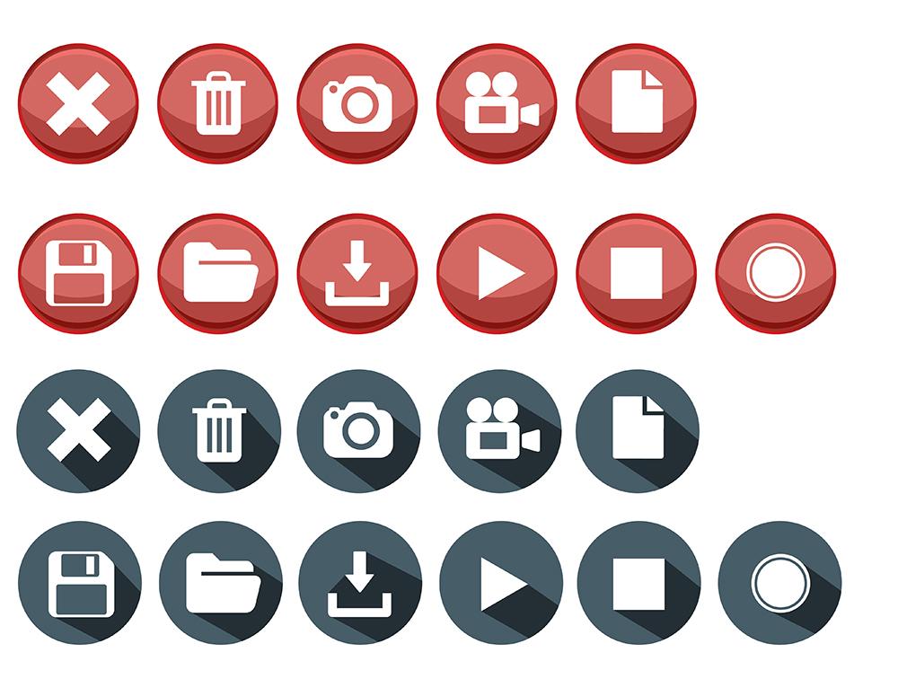 elegant modern icon design for three point nine by happytummy