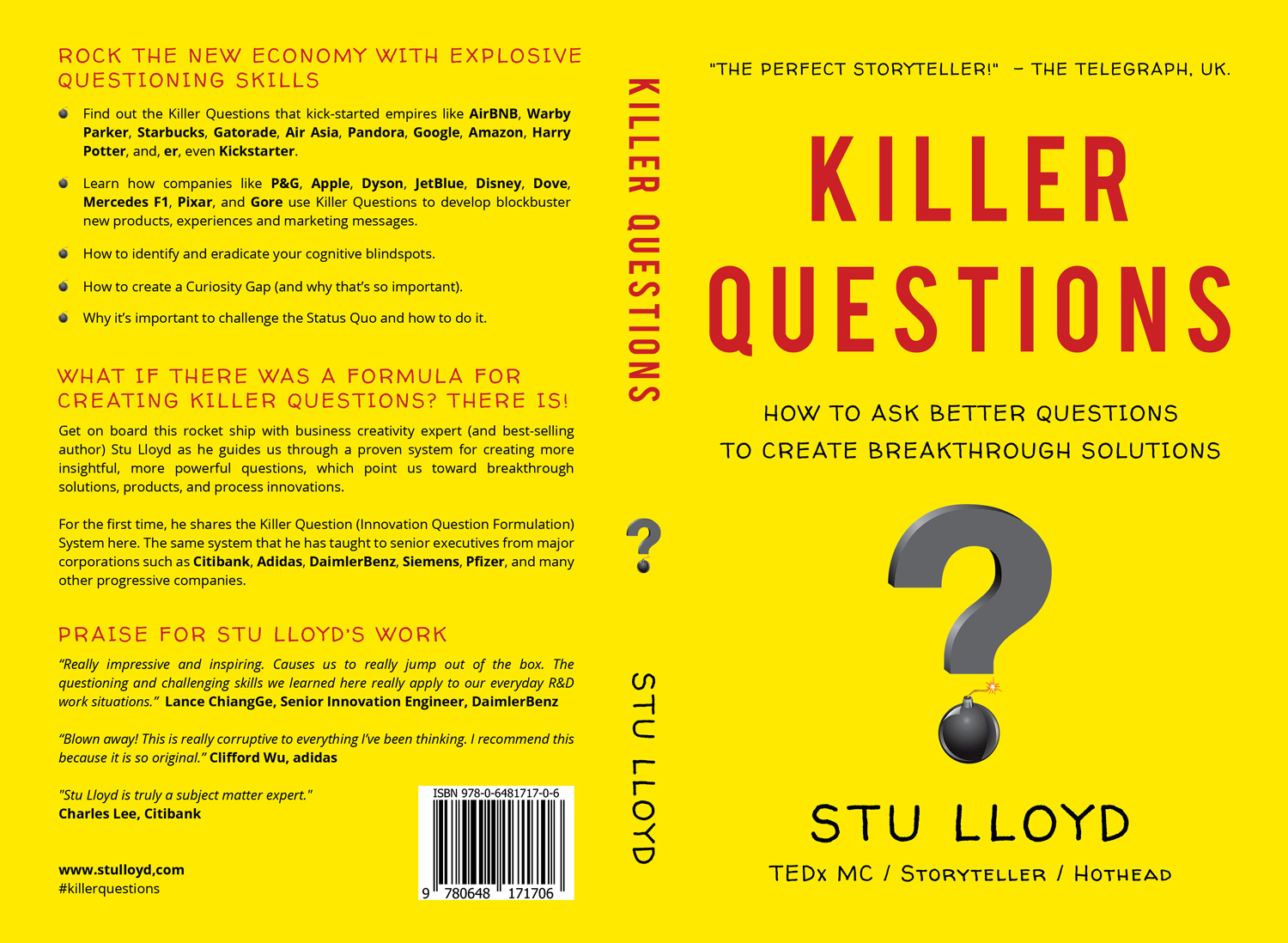 Book Cover Design Questionnaire ~ Bold modern book cover design for stu by armintiacarlo