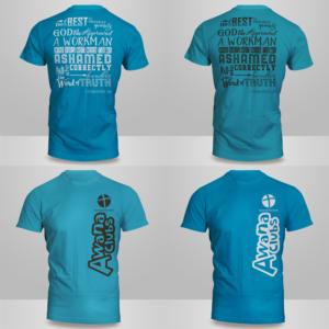 Playful, Modern Church T Shirt Design By Kero
