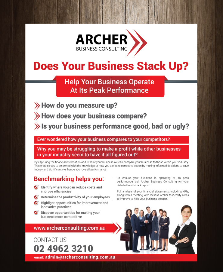 Serious Modern Business Flyer Design For IC Hosting Pty Ltd By