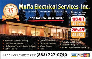 Newspaper Ad Design job – Electrical Contractor Newspaper Ad – Winning design by Umakantth