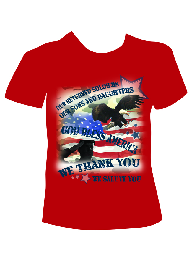 Serious personable it service t shirt design for a for T shirt design service
