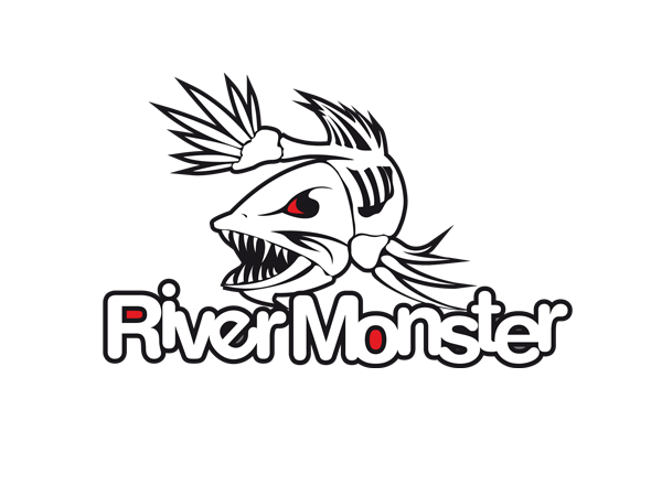 bold professional business logo design for river monster by a