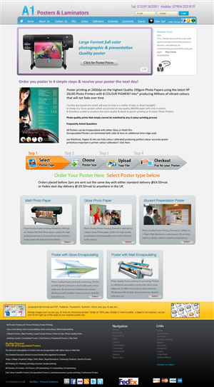 Web Design by pb - Website Homepage re-design Project